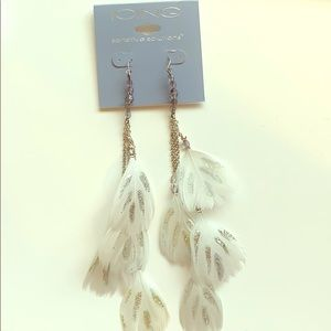Icing Sensitive Solutions Feather Earrings